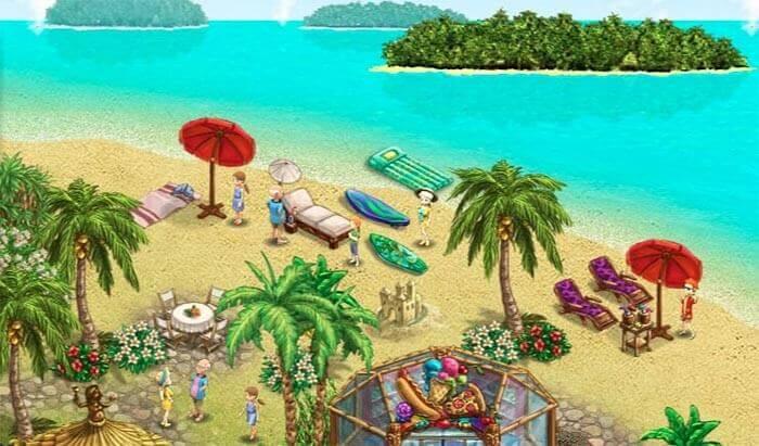 My Sunny Resort  - многосторонняя браузерная игра.