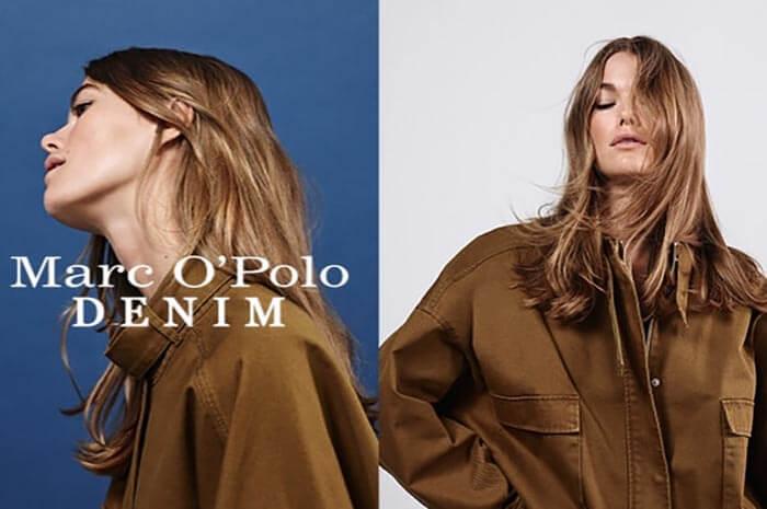 Обувь, одежда и аксессуары бренда - Marc O'Polo.